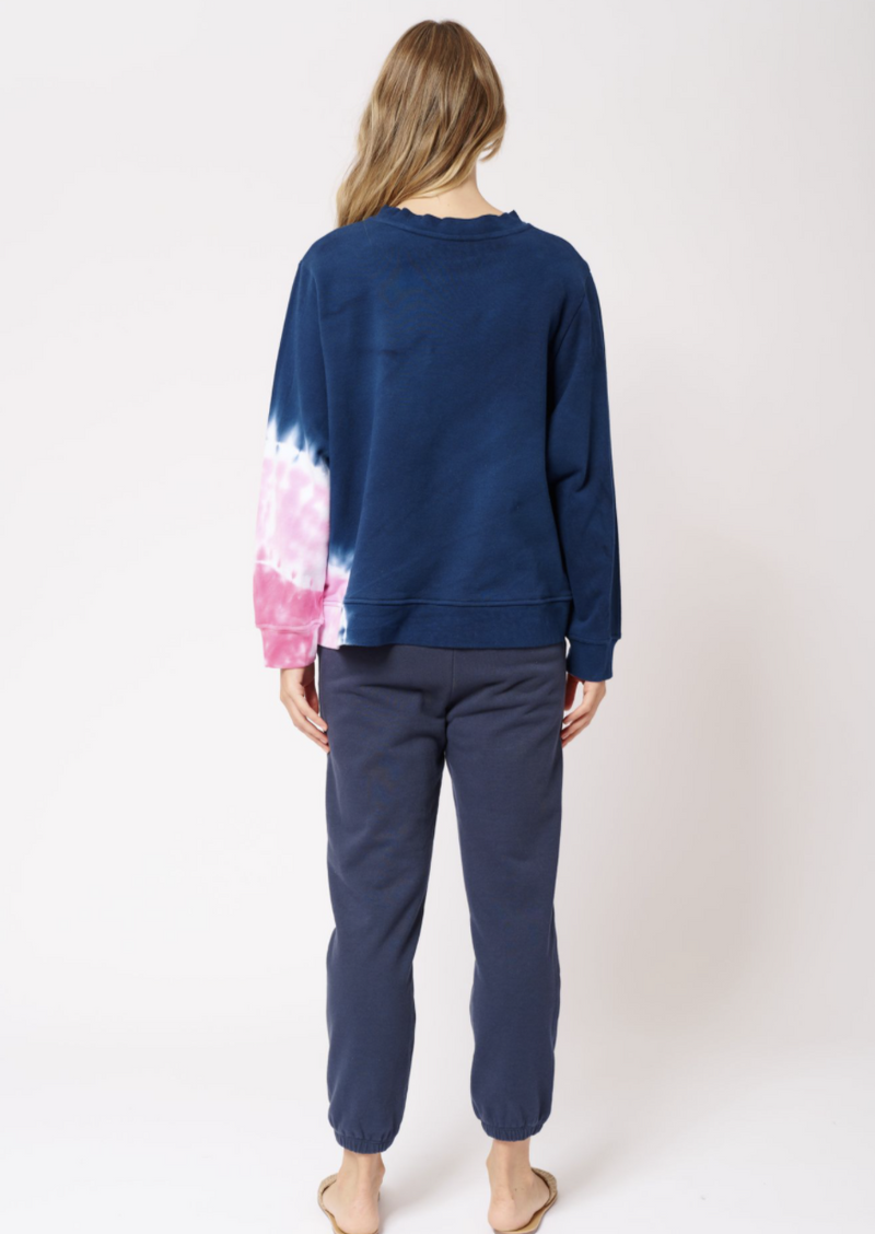 Lollipop Swirl Sweater - Navy