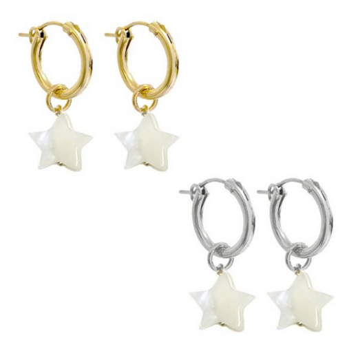 Paris Hoop Marni Earring - Gold, Silver