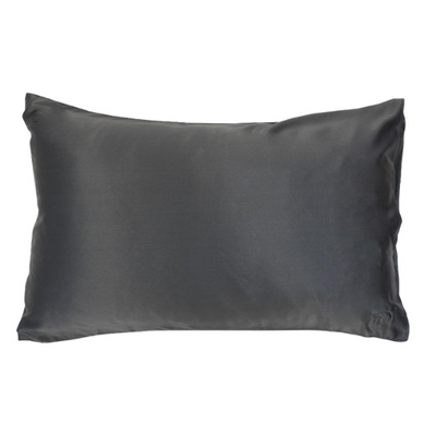 Silk Pillowcase in Charcoal