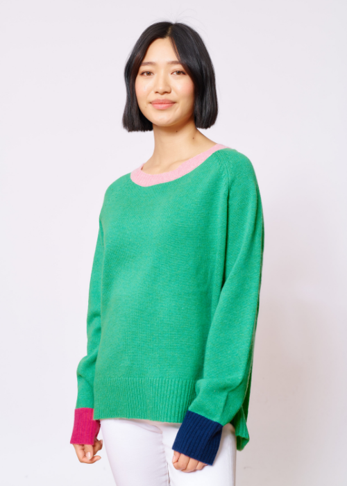 lumiere sweater - pine
