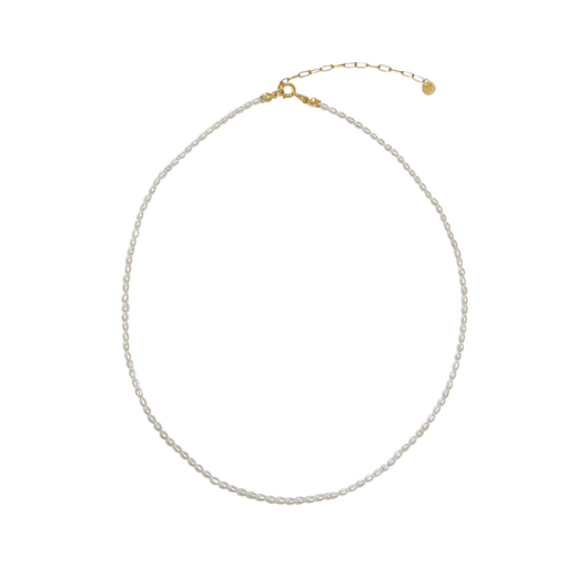 Juliet baby pearl chocker - Gold