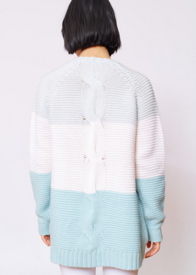 scarlet sweater - ice blue