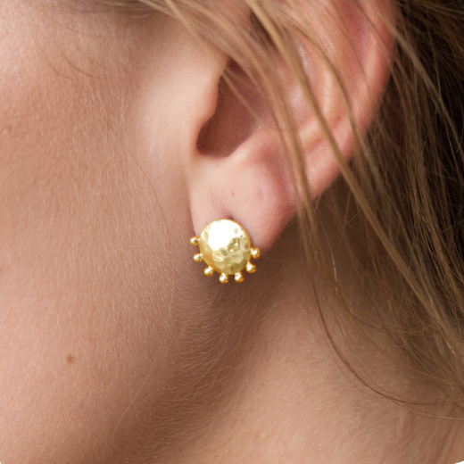 Organic Stud Earrings