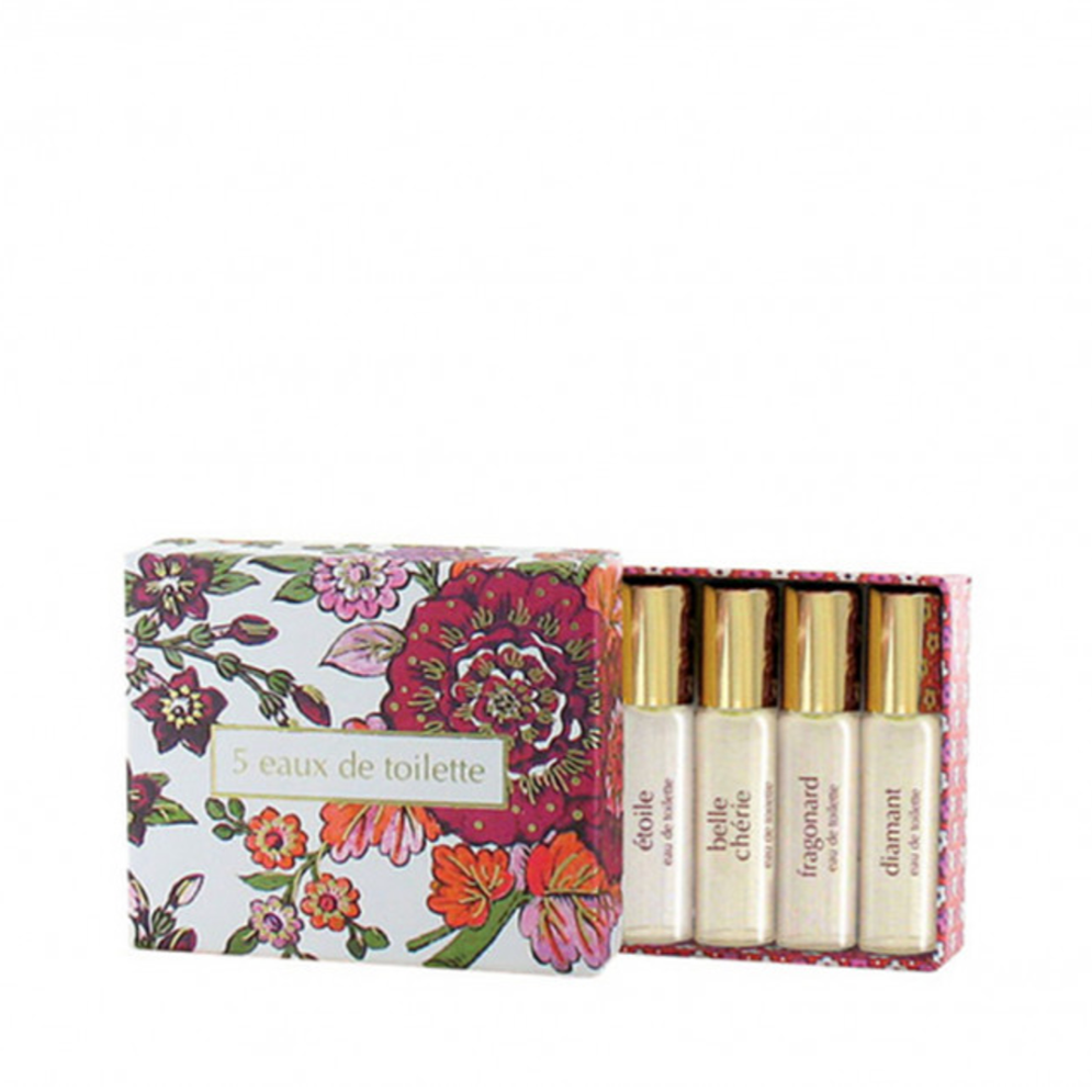 Fragonard Eau de Toilette Gift Set 5 x 4ml Sprays
