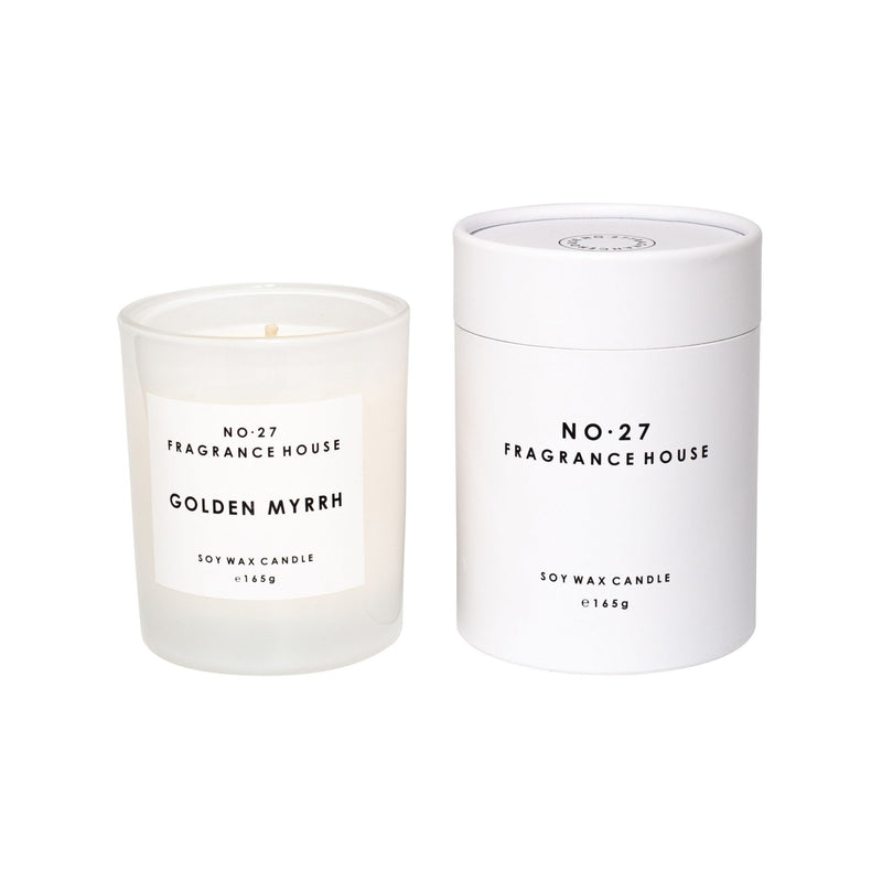 No.27 Fragrance House Golden Myrrh Candle