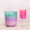 Scented Candle Gradient Purple