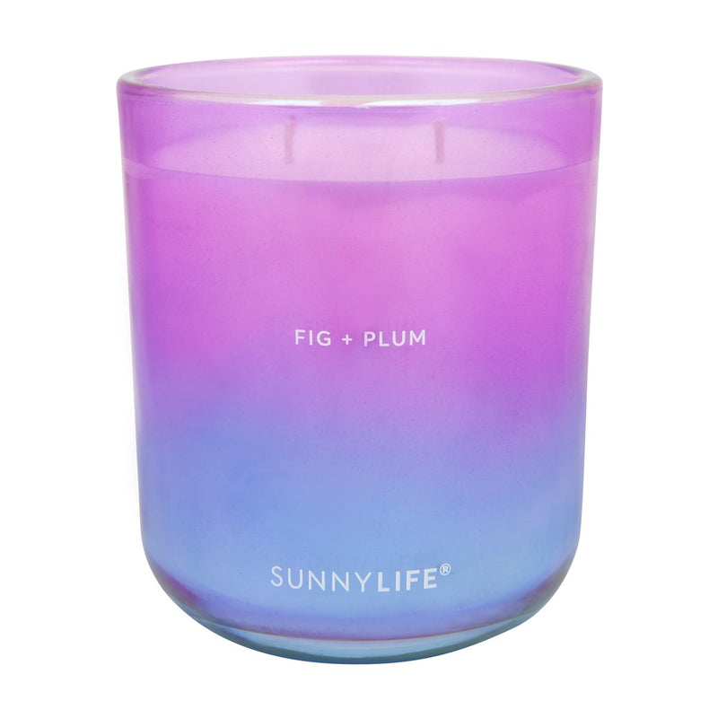 Scented Candle Gradient Blue