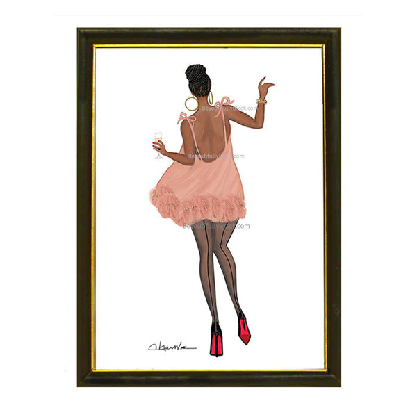 Limited Edition Happy Strut Art Print