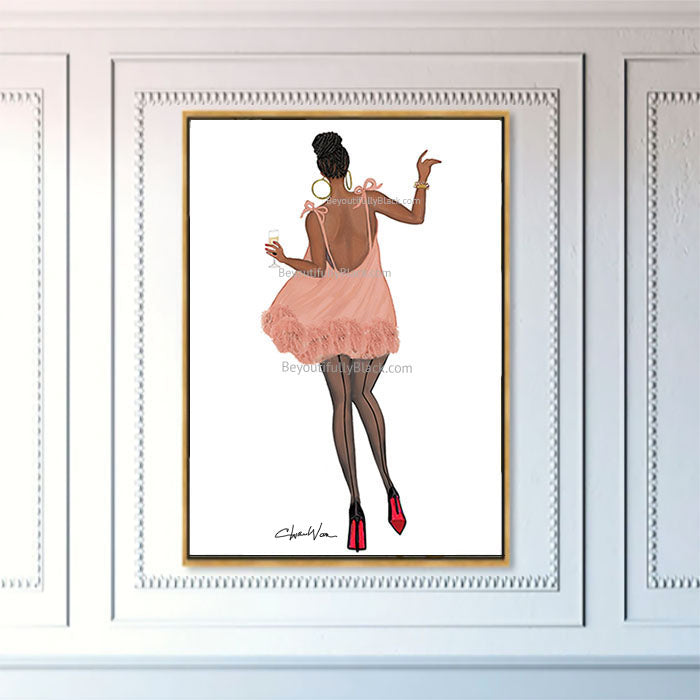 Limited Edition Happy Strut Art Print 2