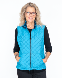 "Cut Loose ""Quilted Vest Top"