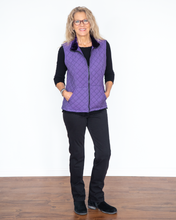 "Load image into Gallery viewer, Cut Loose ""Quilted Vest Top"