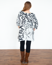 "Load image into Gallery viewer, Et Lois ""3/4 Sleeve Onika Top"""