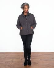 "Load image into Gallery viewer, Habitat ""Ruched Collar Jacket"""