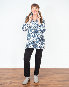 "Habitat ""Vintage Floral Swing Tunic Top"""