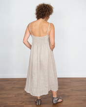 "Load image into Gallery viewer, Scandal ""Lilo Linen Sun Dress"""