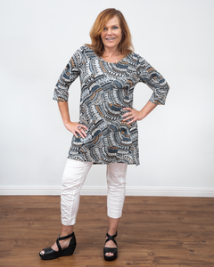 "Salaam ""Doris Tunic Top"""