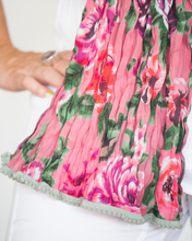 "Load image into Gallery viewer, Little Journeys ""Tea Rose Scarf"""