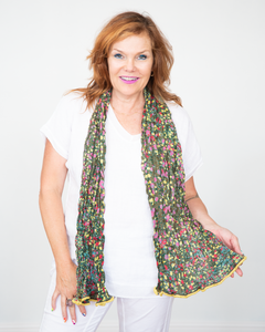 "Little Journeys ""Flower Scarf"""