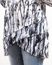 Load image into Gallery viewer, Shana Asymmetric Blouse Top
