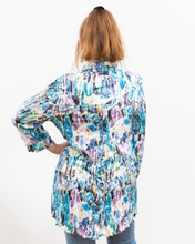 Load image into Gallery viewer, Shana Green Floral Blouse