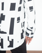 "Load image into Gallery viewer, Shana ""Geometric Blouse Top"""
