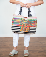 "Load image into Gallery viewer, Little Journeys ""Mosaic Tote"""