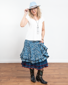 Trade Cloth Mini Macarena Skirt