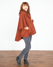 "Load image into Gallery viewer, XCVI Wearables ""Paige Poncho Sweater Top"""