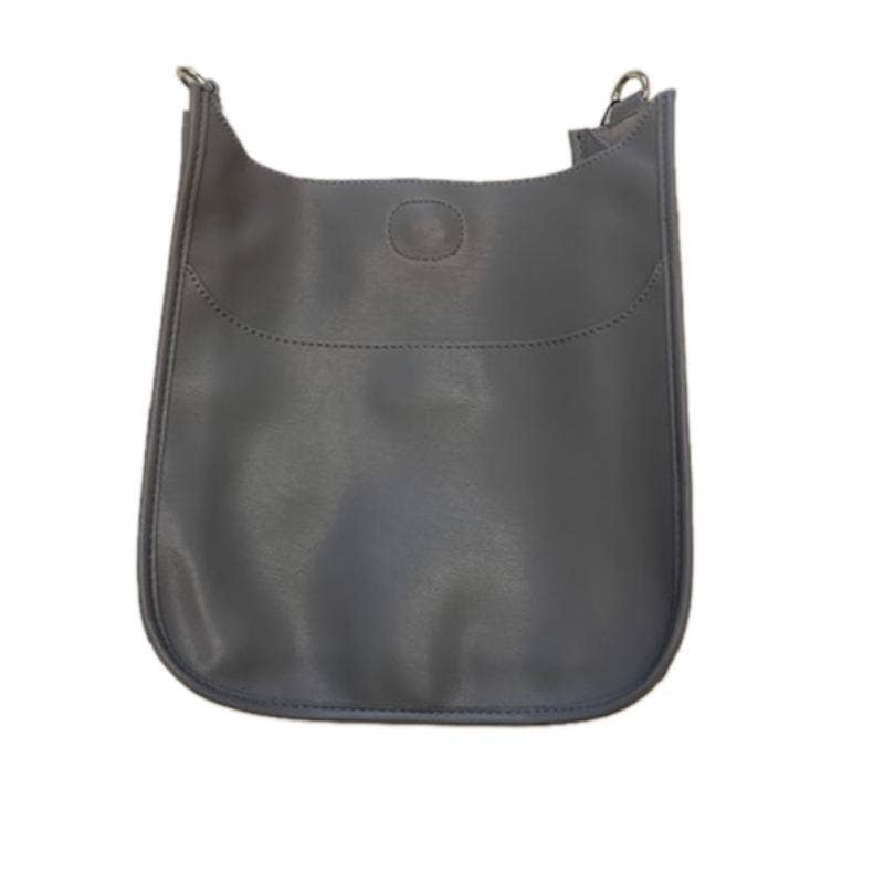 Soft Faux Leather Classic Messenger- NO STRAP ATTACHED