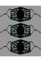 "Load image into Gallery viewer, JC Sunny ""Multi Butterfly Mask"""
