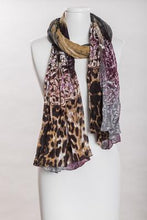 "Load image into Gallery viewer, Vivante by VSE ""Leopard Batik Scarf"""