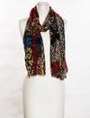 "Load image into Gallery viewer, Vivante by VSE ""Animal Print Patch Scarf"""