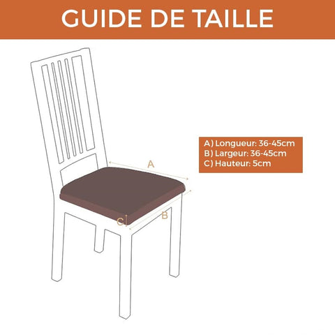 Housse Assise de Chaise - Ocean