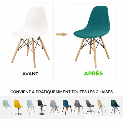 Housse de Chaise Scandinave <br/> Velours - Robusta