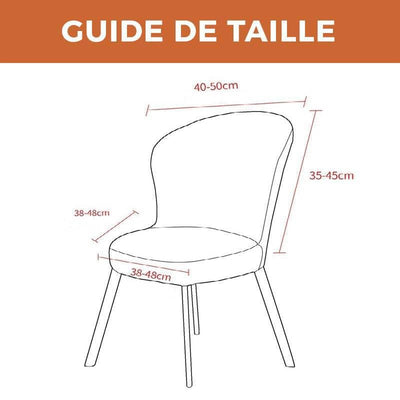 HOUSSE DE CHAISE SCANDINAVE <br/> ROBUSTA