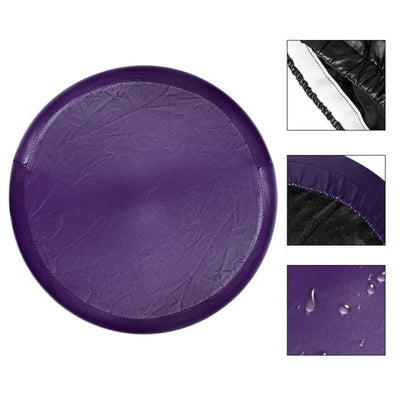 Housse Tabouret De Bar - Purple