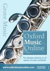 Grove Music Online (Oxford Music Online)