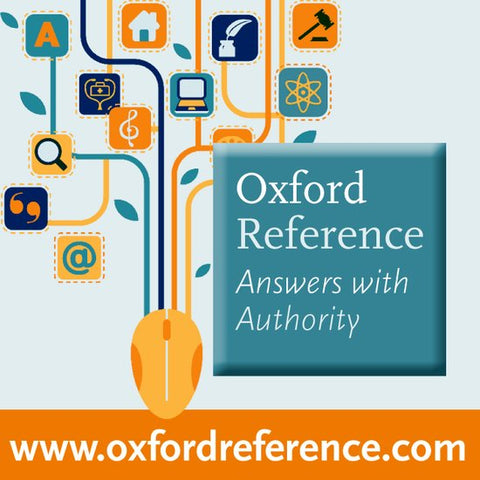 Oxford Reference Library: eBooks