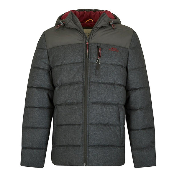 Laurent Puffa Jacket Charcoal