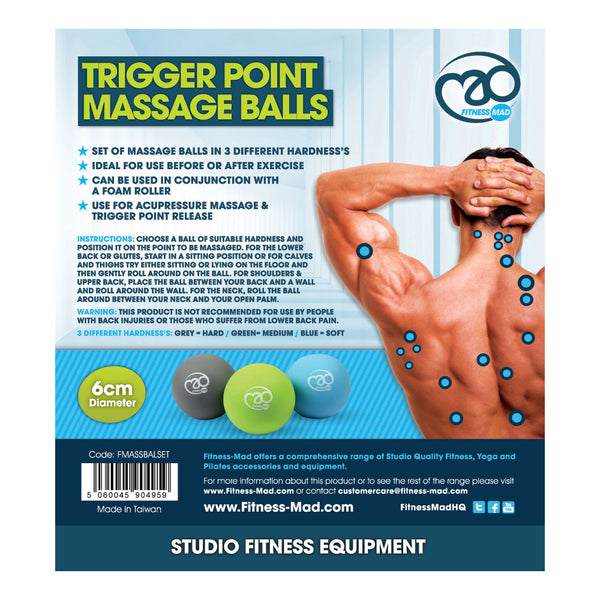 Trigger Point Massage Ball Set