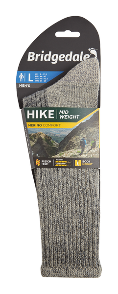 Hike Merino Comfort Mens Sock