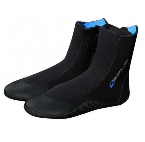 Sola 5mm Adult Zip Boot Neoprene