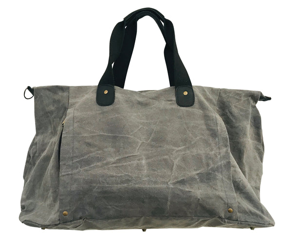 Bolso Mackenzie Overnighter Grey #4000