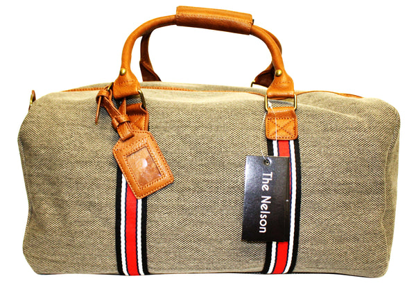 Bolso Nelson Canvas Overnighter #306