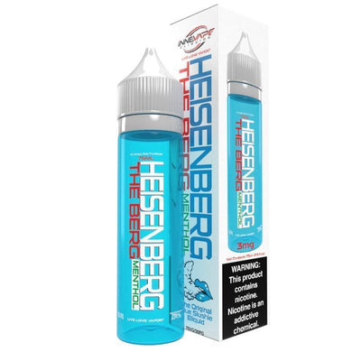 HEISENBERG | The Berg Menthol 75ML eLiquid - Vaping Industries
