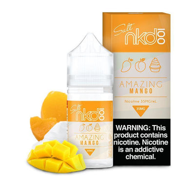 NKD 100 SALT | Amazing Mango / Mango 30ML eLiquid - Vaping Industries