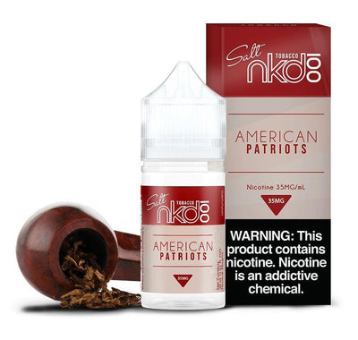 NKD 100 SALT | American Patriots 30ML eLiquid - Vaping Industries