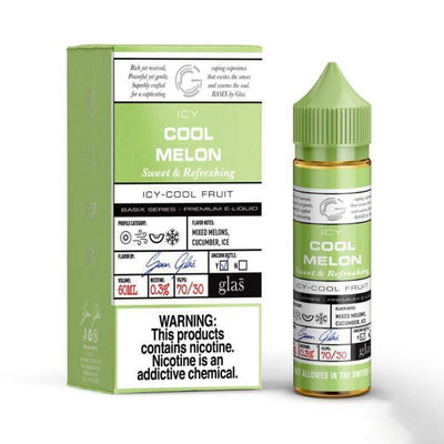GLAS BASIX SERIES | Cool Melon 60ML eLiquid - Vaping Industries