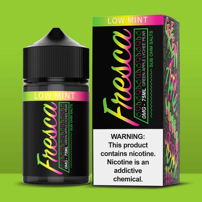 FRESCA | Green Apple Lychee 75ML eLiquid - Vaping Industries