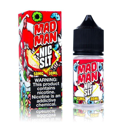 JUICE MAN SALT | Mad Man 30ML eLiquid - Vaping Industries